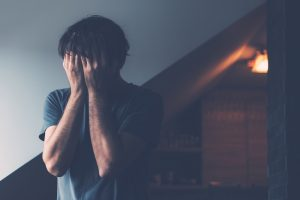 Male Midlife Crisis Depression Stage Concept, Depressed Man Crying alone. You could get help with depression treatment in Chicago, IL from LifePath Therapy. Your life can feel hopeful again with video counseling in Illinois and Depression Therapy in Chicago, IL 60602