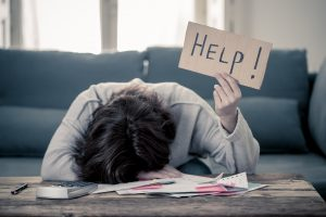 Upset Young Woman Asking For Help with Anxiety Treatment and Stress and Depression Therapy from LifePath Therapy in Chicago, IL 60602. You can get help anywhere in the state with online therapy in Illinois too!